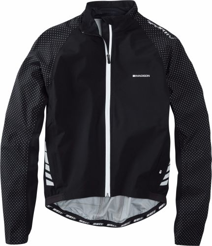 Madison Sportive Hi Viz Waterproof Jacket Black