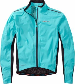 Madison RoadRace Premio Mens Waterproof Jacket Blue Curaco