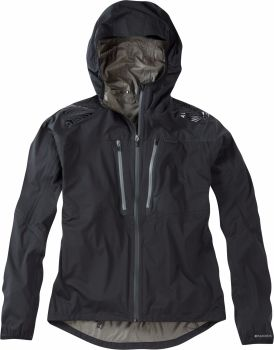 Madison Flux Super Light Mens Waterproof Softshell Jacket Black