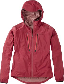 Madison Flux Super Light Mens Waterproof Softshell Jacket Blood Red