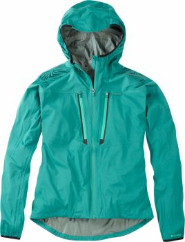 Madison Flux Super Light Mens Waterproof Softshell Jacket Oak Green