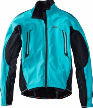 Madison RoadRace Apex Waterproof Storm Jacket Blue Curaco