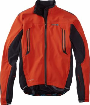 Madison RoadRace Apex Waterproof Storm Jacket Chilli Red