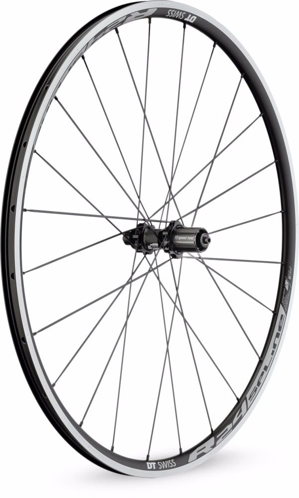DT Swiss R24 Spline Rear Wheel Clincher 700c