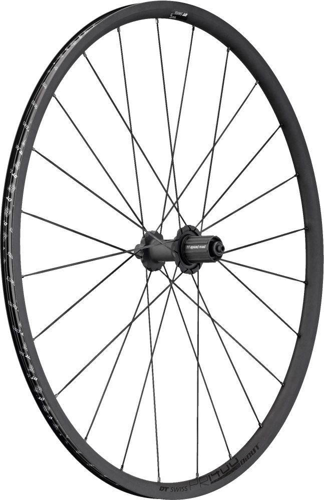 DT Swiss PR1400 DICUT Oxic Rear Wheel Clincher 700c