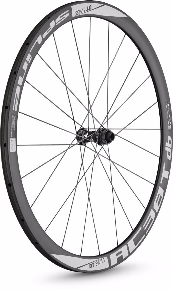 DT Swiss RC38 Spline Disc Brake Front Wheel Tubular 700c
