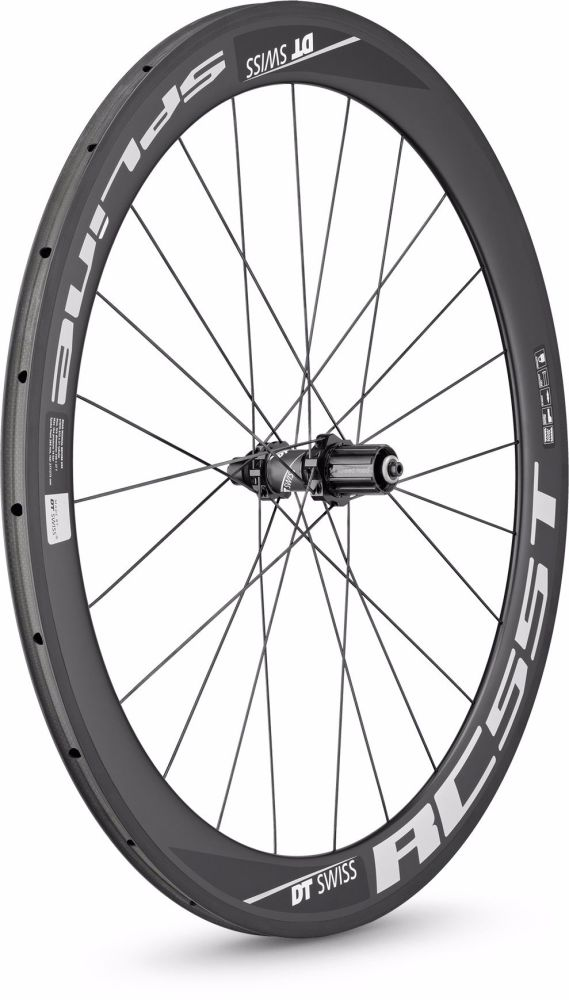 DT Swiss RC55 Spline Carbon Rear Wheel Tubular 700c