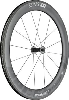 DT Swiss RRC65 DICUT Carbon Front Wheel Clincher 700c