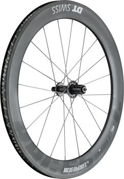 DT Swiss RRC65 DICUT Carbon Rear Wheel Clincher 700c