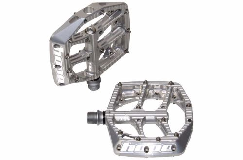 Hope F20 Flat Pedal Silver