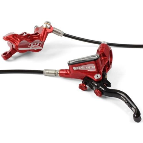 Hope Tech 3 E4 Disc Brake Front R/H Red