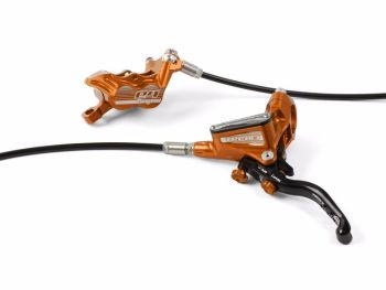 Hope Tech 3 E4 Disc Brake Front R/H Standard Hose Orange
