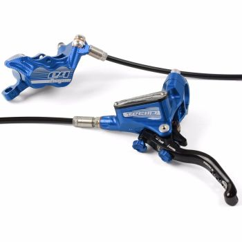 Hope Tech 3 E4 Disc Brake Rear L/H Standard Hose Blue