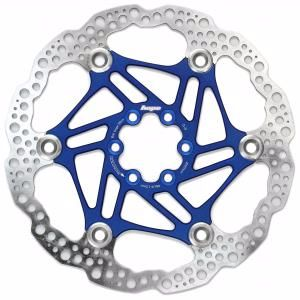Hope Floating Disc Rotor 160mm Blue