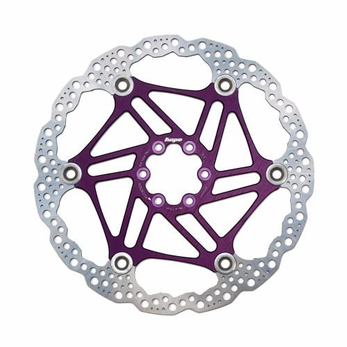 Hope Floating Disc Rotor 160mm Purple