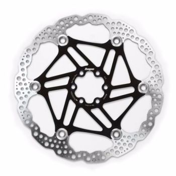 Hope Floating Disc Rotor 180mm Black