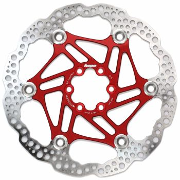 Hope Floating Disc Rotor 180mm Red