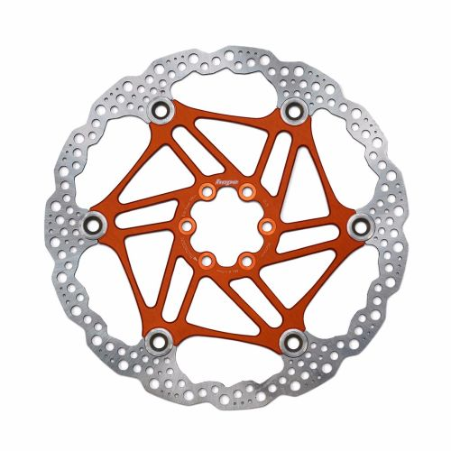 Hope Floating Disc Rotor 180mm Orange