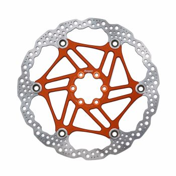 Hope Floating Disc Rotor 203mm Orange