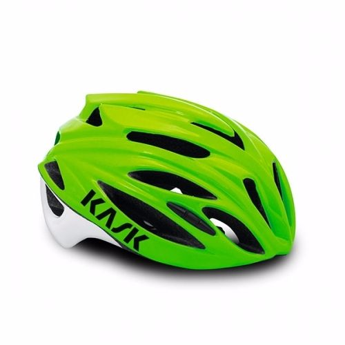 Kask Rapido Road Helmet Lime Green