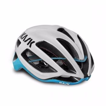Kask Protone Road Helmet White / Light Blue