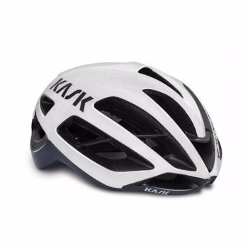 Kask Protone Road Helmet White / Dark Blue