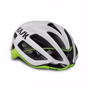 Kask Protone Road Helmet White / Lime