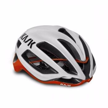 Kask Protone Road Helmet White / Red