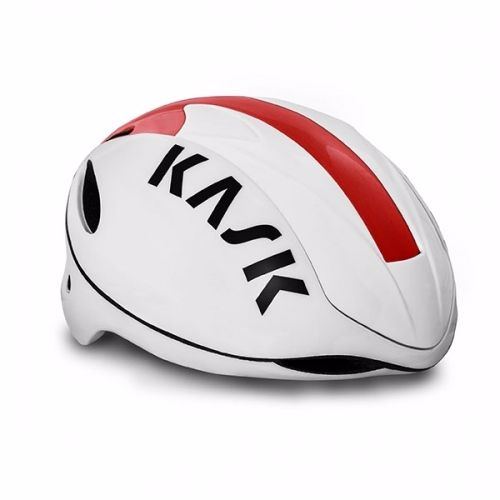 Kask Infinity Road Helmet White / Red