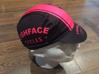 Fishface Cycles Road Cap Black / Fuschia