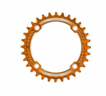 Hope Retainer Chainring 104PCD Orange