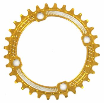 Hope Retainer Chainring 104PCD Gold