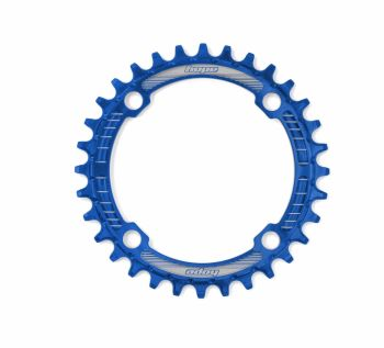 Hope Retainer Chainring 104PCD Blue