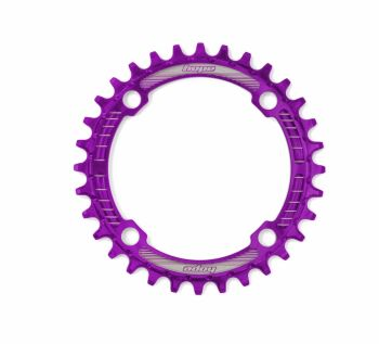 Hope Retainer Chainring 104PCD Purple