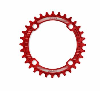 Hope Retainer Chainring 104PCD Red