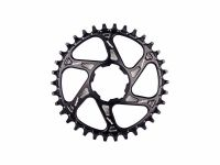 Hope Spiderless Retainer Chainring Black