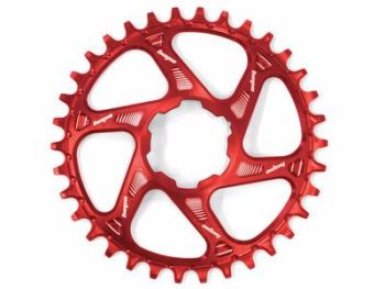 Hope Spiderless Retainer Chainring Red