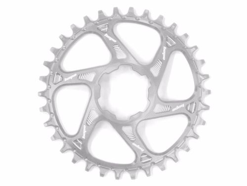 Hope Spiderless Retainer Chainring Silver