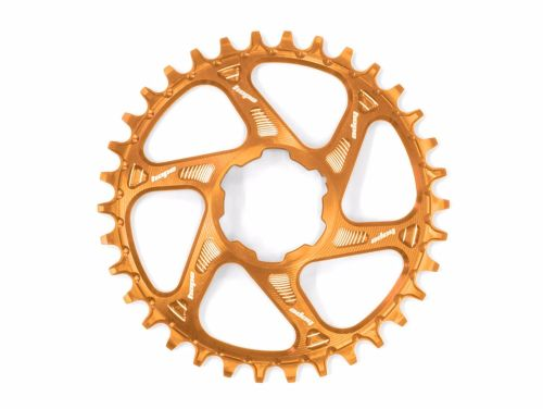 Hope Spiderless Retainer Chainring Orange