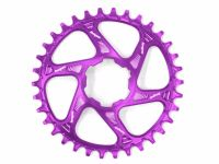 Hope Spiderless Retainer Chainring Purple