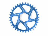 Hope Spiderless Retainer Chainring Blue