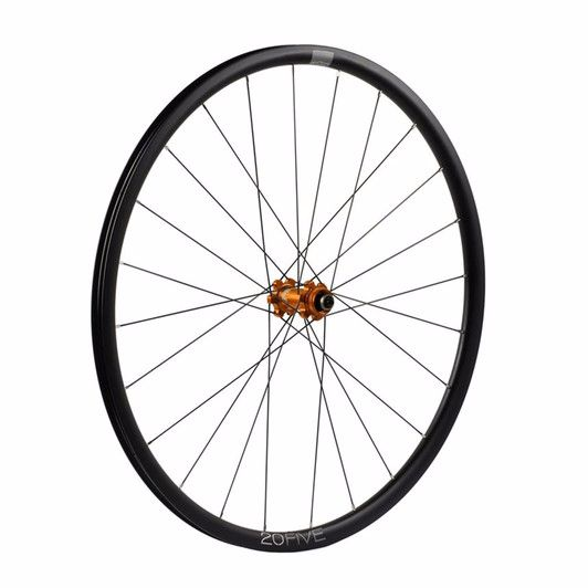 Hope 20Five RS4 Straight Pull 6 Bolt Front Wheel Orange