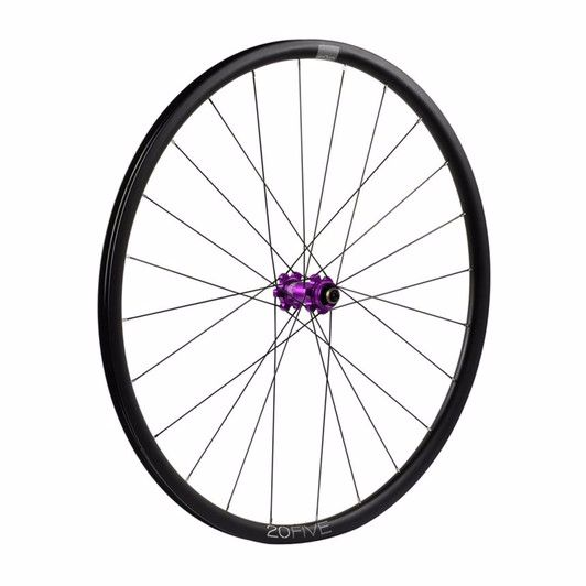 Hope 20Five RS4 Straight Pull 6 Bolt Front Wheel Purple