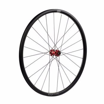 Hope 20Five RS4 Straight Pull 6 Bolt Front Wheel Red