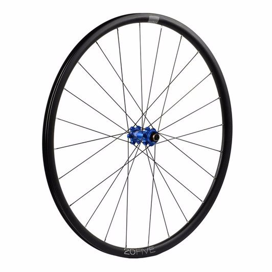Hope 20Five RS4 Straight Pull 6 Bolt Front Wheel Blue