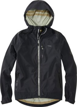 Madison DTE Mens 3 Layer Waterproof Storm Jacket Black