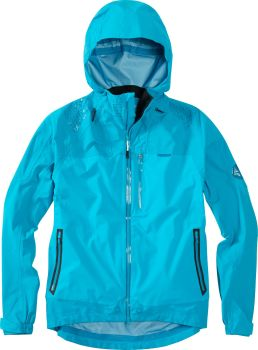 Madison DTE Mens 3 Layer Waterproof Storm Jacket Caribbean Blue