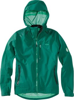 Madison DTE Mens 3 Layer Waterproof Storm Jacket Oak Green