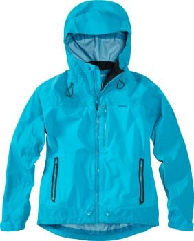 Madison DTE Womens Waterproof Jacket Caribbean Blue