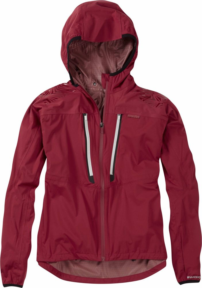 Madison Flux Super Light Womens Waterproof Softshell Jacket Blood Red